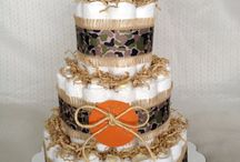 Diaper cakes / by Brittany Rose