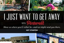 Pin to Get Away with Tablet / Show us where you'd rather be right now—and we might send you there! Use Pinterest to create your getaway and you could win 4 nights at a truly unique Tablet hotel. / by Tablet Hotels