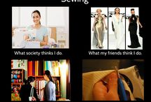 Sewing Funnies / by Amy Taylor
