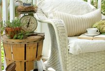 Wicker and Baskets / Decorating inspirations using wicker and baskets. / by Susan Kraner
