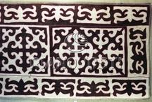Syrmak / Kazakh National felt carpet / by Michael