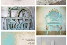 Turquoise Gold Wedding / by Katherine Warren