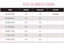 Cardio/Running / Cardio Workouts / by Megan King