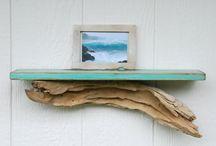 Driftwood Ideas / by Missy Bienvenu