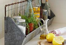 galvanized. love. / by judi burrows-inspired (vintage.home.design)