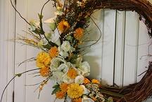 wreaths / by Genny Ball
