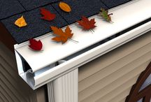LeafGuard Gutter Illustrations / by LeafGuard Englert