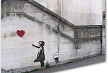 Banksy Prints & Banksy Canvas / by popartlovers.com