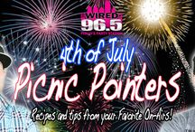 4th of July Picnic Pointers! / Wired 96.5 Jocks share their favorite 4th of July recipes with you! / by Wired 96.5