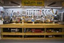 Wood Workshop / A different type of man cave, the wood workers workshop / by Kendall Chaffee
