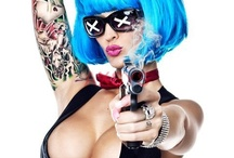 Tattooed Women / Beautiful Tattooed Women / by Alexandria Passe