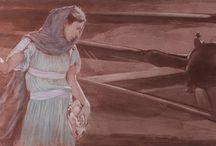 Opere pittoriche incontrate / Studio... - le immagini potrebbero essere soggette a copyright / by Gabriella Sernesi