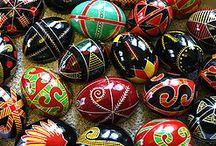 Oeufs de Pâques - Easter Eggs / Chaque année, les oeufs de Pâques : c'est con, mais c'est bon °O° Miam ! Eric, http://eric-lequien-esposti.com / by Eric Lequien Esposti