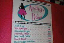 Diner menu / by Vintage Vi