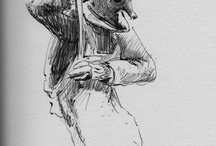 Drawings / by Patrick Gracewood