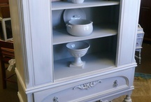 Painted furniture goodness / I am in LOVE with painted furniture!  / by Laurie Farnes