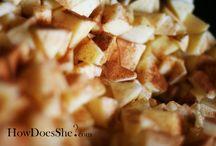 Recipes: Apples, Apples, Apples / by Nikki Joyce