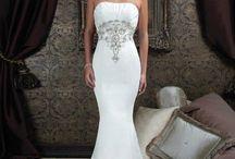 wedding dresses / by Debbie Tanner Kissel