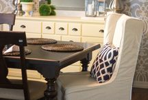 Dining room ideas / by Jacquie Tuke