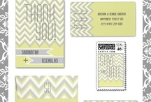 Wedding invitation suites / Wedding invitation ensembles for your wedding! Our designs, modern or vintage are full of finesse and elegance. / by Modern and stylish weddings