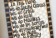 Home sweet home / by Mrs J
