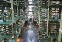 Libraries / by Bookshelf Porn