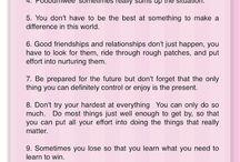 words of wisdom / by Jana Ralphs-Maio