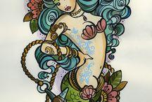 tattoo ideas / by Kadi Erickson