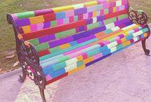 Yarn bomb haha / by Sam M