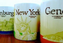 Starbucks Tumblers And Mugs / Starbucks Tumblers And Global Icon Series City Mugs / by John ManilaTrade