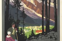 Leuk travelposters nostalgie / by Carro De jong