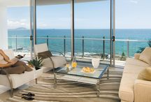 Oceans Mooloolaba 5 star hotel / Luxury accommodation in Mooloolaba, Sunshine Coast.  Oceans Mooloolaba Beach, the only AAA rated 5 star Mooloolaba Resort, is perfectly positioned directly opposite Mooloolaba Beach and in the center of Mooloolaba Esplanade.   / by Oceans Mooloolaba Resort