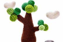 Tree cactus plants crochet / by Gato Chirolio !