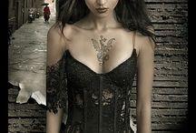 Dark and sexy. / by Dana Whissen