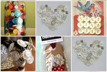 Buttons! / Button craft ideas / by Carrie Sorrell