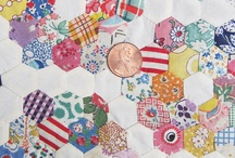 i love hexagon quilts / by retro mummy