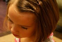 Little girl hair / by Brandi Smith