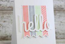 Cards Hello or Hi / by Bev Epstein
