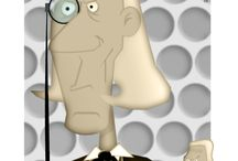 """"""" My Doctor Who Cartoon Characters """" / Introducing my cartoon Doctors for a future project / by Anthony Naylor"""
