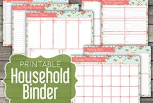 Household Binder Sets / by Citrus Paper