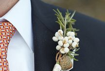 Cute buttonholes / by Chic Weddings