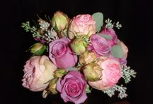 Purple and lavender wedding bouquets / by Buettner Florist