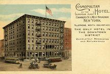 The Cosmopolitan Hotel History / by Cosmopolitan Hotel TriBeCa