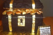 Pirate cake / by Fancy Fondant Cakes by Emily Lindley