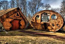 Strange Houses Strange Places / by CJ Foxcroft