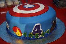 Captain America Birthday / by Veronica Moore