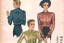 1930s McCall Patterns / McCall's have announced they're releasing the 'McCall Archive Collection' - a new collection of vintage inspired patterns, starting with one from the 1930s. Here are some of the McCall patterns from the 1930s we love...I wonder if any of these will get reissued? / by WeSewRetro