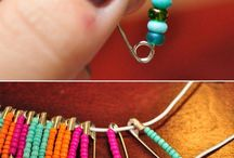 Safety pin bracelets / How to make them!!! / by Charlotte Voss