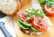 sandwiches / by Kristin Glossy