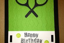 Tennis Card Ideas / by Sue Richardson